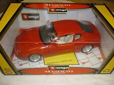 Burago, A Maserati 3200 GT, with working features,  boxed, old shop stock.