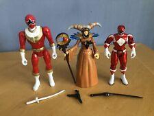 "Power Rangers Samurai Mighty Morphin Rita Repulsa 4"" Action Figure Red"