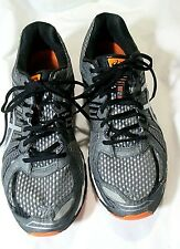 Mens Asics Gel-Nimbus 15 Mens Size 11  Gray/Orange Trail Running Shoes Sneakers