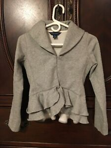 Girl's Ralph Lauren Ruffle Peplum Jacket-NWOT-size12/14