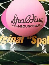 Spalding High Bounce Ball Pink
