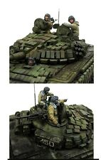 1/35 Modern Russian Tank Crew Resin Model Kit (3 Figures)
