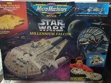 STAR WARS MILLENNIUM FALCON MICROMACHINES  ORIGINAL SCALE MINIATURES 7 FIGURINES