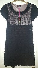 Brand New black Yumi dress. Size medium to large, UK 12 / 14. Winter wedding.