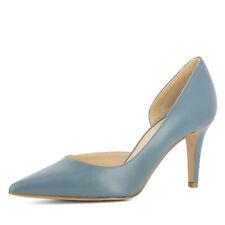 Evita »JESSICA« Pumps, Gr.38,  aus Glattleder, B-WARE, graublau !!!!