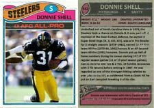 Donnie Shell Pittsburgh Steelers Custom Card