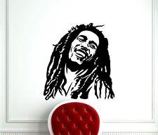 Bob Marley Wall Decal Reggae Music Star Vinyl Sticker Art Decor Mural (226s)