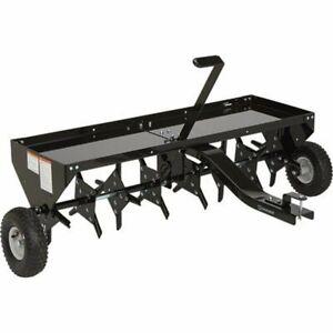 Lawn Aerator For Ride on Mower, ATV, Quad bike spike plug core fertilizer