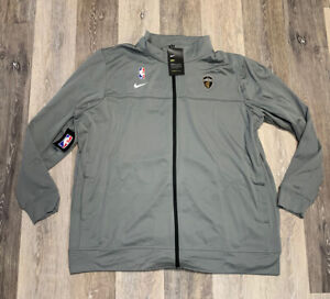Nike Cleveland Cavaliers Player Issued Gray Travel Jacket Men's Size 2XL NWT 🔥