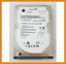 "Disco Duro Seagate Momentus 120GB 5400RPM 2.5"" Hdd Caddy ST9120822AS 418266-002"