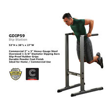 MAKE US AN OFFER - Body-Solid Commercial Steel Dip Station (GDIP59)