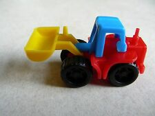 BRUDER MINI vintage toy CONSTRUCTION VEHICLE Made-in-W-Germany SNAP-TOGETHER