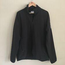 SALOMON Men's Fleece-Lined Black Soft Shell Jacket Sz XL