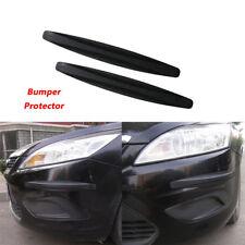 2pcs Car Auto Carbon Fiber Body Protector Corner Bumper Anti-scratch Guard Bars