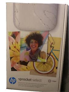 HP Sprocket Select Portable Photo Printer - Eclipse (Upgrade of Sprocket Plus)