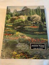 NEW Springbok Friendship Garden Puzzle 1980's Jigsaw 500+ Pcs Puzzle #4128 *BIG*