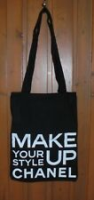 Chanel Black '' Make Up Your Style '' Tote Bag New