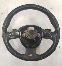 Audi B8 B7 S4 A4 A5 S5 A6 A8 Q7 S-Line Black SPORT Steering Wheel 8K0419091BCXCF
