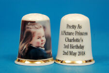 Pretty As A Picture Princess Charlotte's 3rd Birthday 2nd May 2018 Thimble B/136