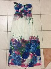 Fresh Soul Womens Elegant Maxi Dress With Floral Pattern Size 10 BNWT!