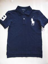 NWT Ralph Lauren Boys Big Pony Navy Polo Size 7