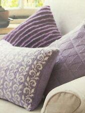 3 X Cushion Set Knitting Pattern