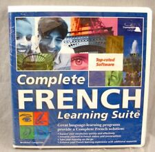 Complete French Learning Suite CD-ROM Windows Learn Language Program