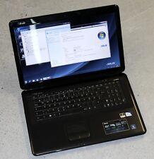 "ASUS X70IC 17,3"" Laptop Intel T4400 Dual Core 2,20GHz 320GB HDD 4GB RAM NVIDIA"