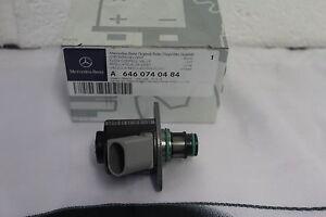 Genuine Mercedes-Benz OM646 Diesel Fuel Pump Flow Control Valve A6460740484 NEW