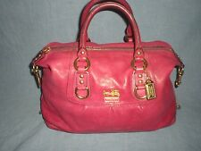 Coach Madison 12937  Sabrina Fuchsia Leather  Satchel