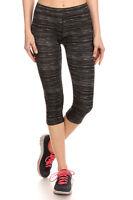 Women Sport Leggings Sports Fitness Gym Trousers Exercise Capris Leggings