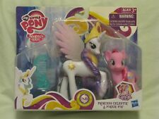 My Little Pony FiM 'Princess Celestia' & 'Pinkie Pie' Crystal Empire NIB Ltd Ed