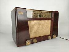 Ancienne TSF radio Philips BF401A bakélite