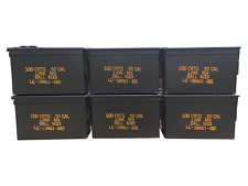 6 Pack 50 Cal ammo cans - Grade 1