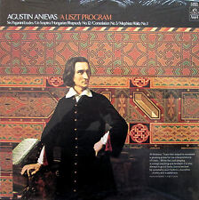 MINT SEALED LP Agustin Anievas A Liszt Program Angel S-36820 USA