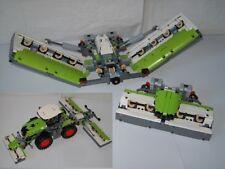 RBI de recette 42054 Tondeuse autoconstruction Claas Xerion MOC Maher de LEGO ® Pierres
