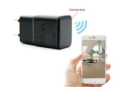 8Gb 1080P Wifi Spy Hidden Wall Charger Camera Adapter Us/Eu Plug Ip Security Cam