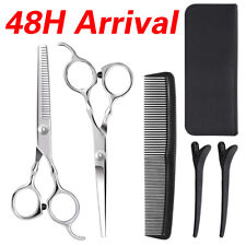 Hair Cutting Scissors Shears Thinning Kit Hairdressing Salon Professional Barber