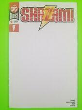Shazam #1 Blank Variant DC Comics 2018