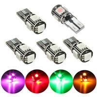 T10 168 CANBUS 5050 LED 5 SMD Standlicht Rücklicht Innenraum Beleuchtung Birne