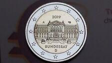 2 euro 2019 Germania 70 Bundesrat Deutschland Allemagne Alemania Germany 德国 ドイツ