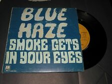 45 tours BLUE HAZE smoke gets / in your eyes AM RECORDS 891