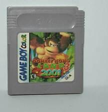DONKEY KONG 3 LAND 2001 GIOCO USATO NINTENDO GAMEBOY COLOR ED USA LS1 41104