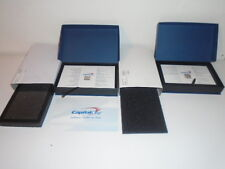 CAPITAL ONE CORP. SYMBOL LAPEL PIN  10K 2 DIAMONDS  1 RUBY 25 YR. SERVICE AWARD