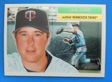 2005 Topps Heritage Chrome #THC19 Mike Sweeney & Lew Ford #THC53 /1956