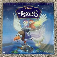 Disney's The Rescuers Widescreen Laserdisc - VERY RARE VERSION - BRAND NEW
