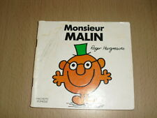 """Monsieur MALIN  Roger Hargreaves Collection """"Bonhomme"""""""