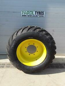 New BKT Flotation 558 Tyre On Rim 400/55x22.5