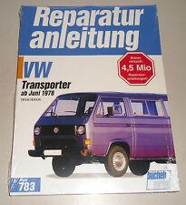 Reparaturanleitung VW Bus + Transporter T3 Luftboxer 1,6 / 2,0 liter, ab 1978
