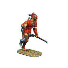 First Legion: AWI084 Woodland Indian Charging with Tomahawk and Musket